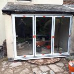 newly fitted doors garden view