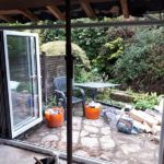 inside view of garden