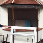 new window being fitted