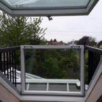 open sun roof from inside